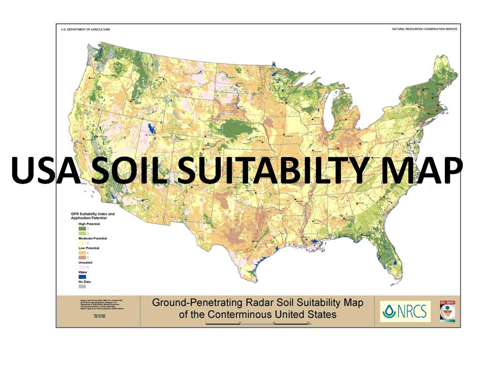 USA Soil Suitabilty Map